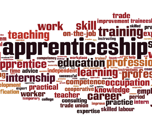 Apprenticeships - Matching best companies, their employees, and interested students to critical training and credentials